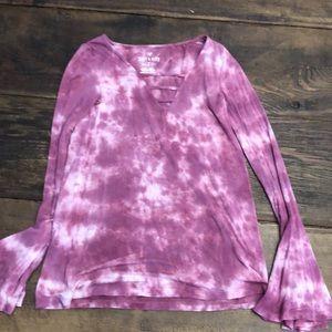 American Eagle XXS Tie Dye Shirt